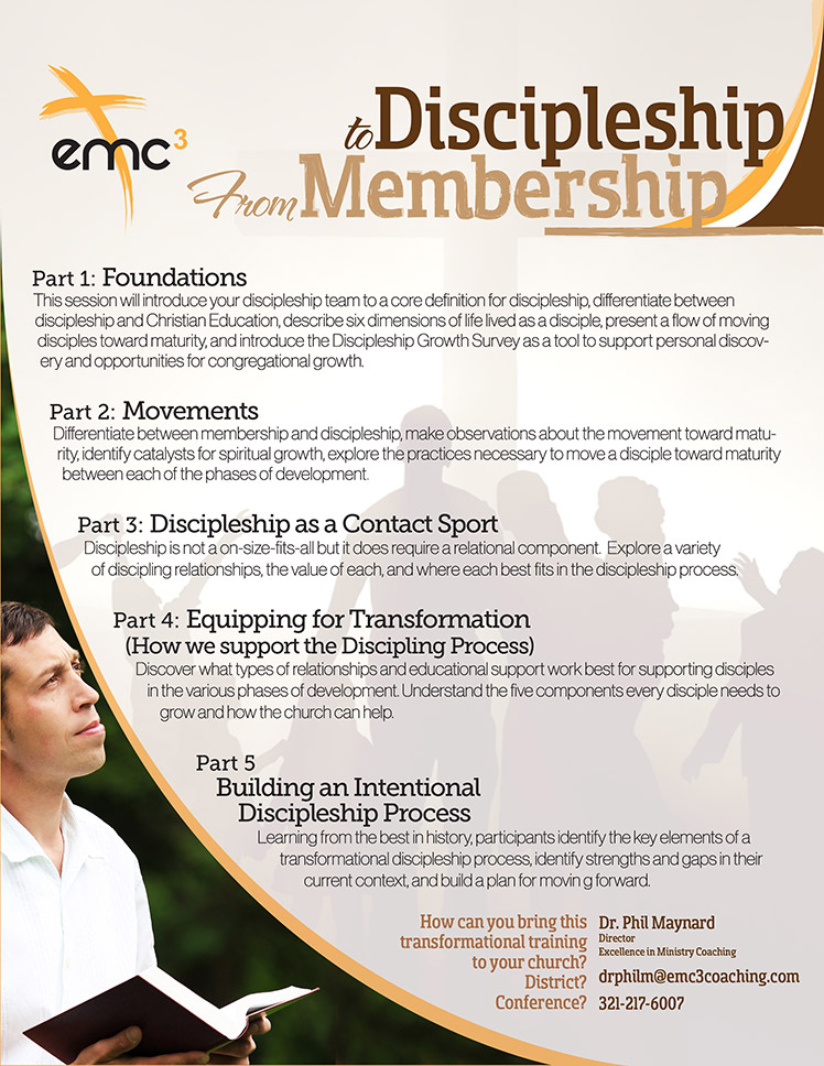 From-Membership-To-Discipleship